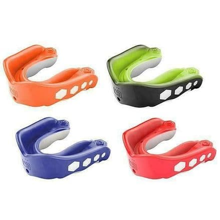 Shock Doctor Mouth Guard Gel Max Flavour Fusion Gum Shield Rugby MMA Boxing